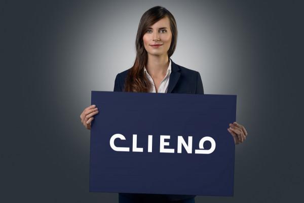 Sample branding #3 for Clieno