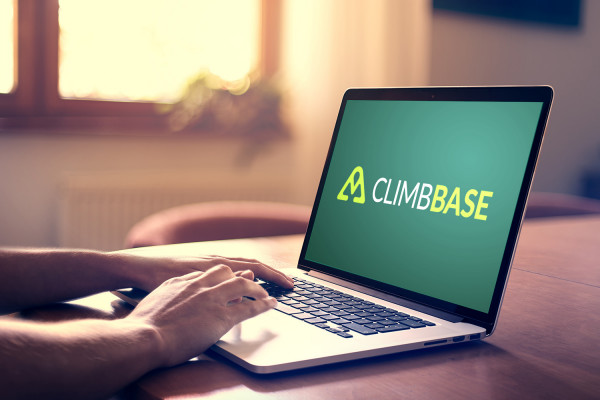 Sample branding #1 for Climbbase