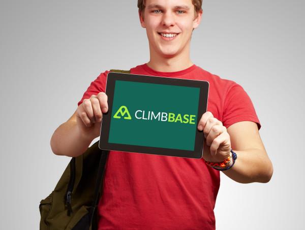 Sample branding #3 for Climbbase