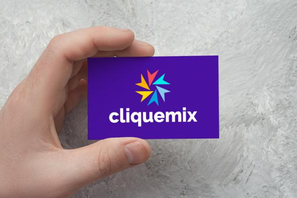 Sample branding #2 for Cliquemix
