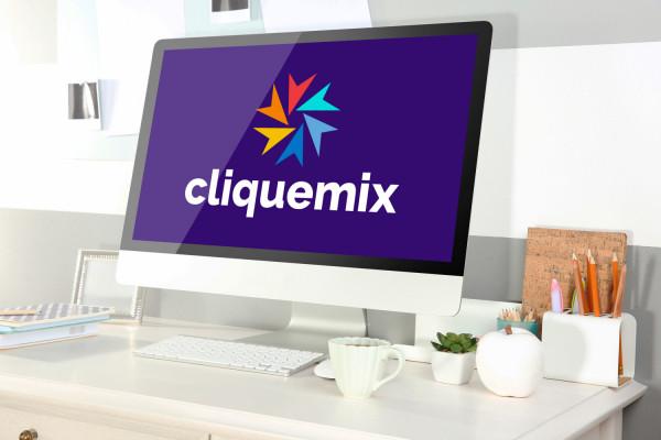 Sample branding #1 for Cliquemix