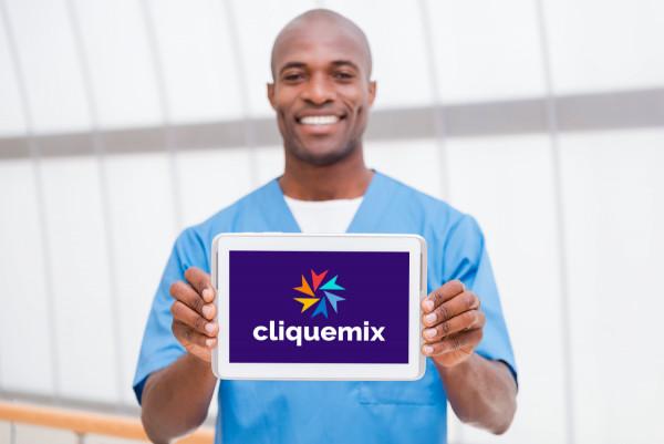 Sample branding #3 for Cliquemix