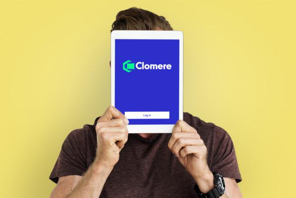 Sample branding #3 for Clomere