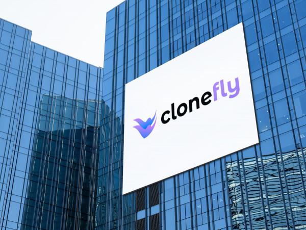 Sample branding #2 for Clonefly