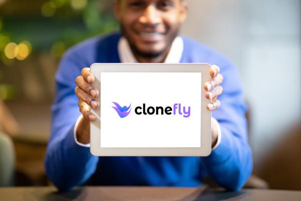 Sample branding #3 for Clonefly