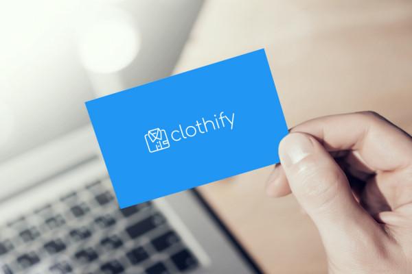 Sample branding #3 for Clothify
