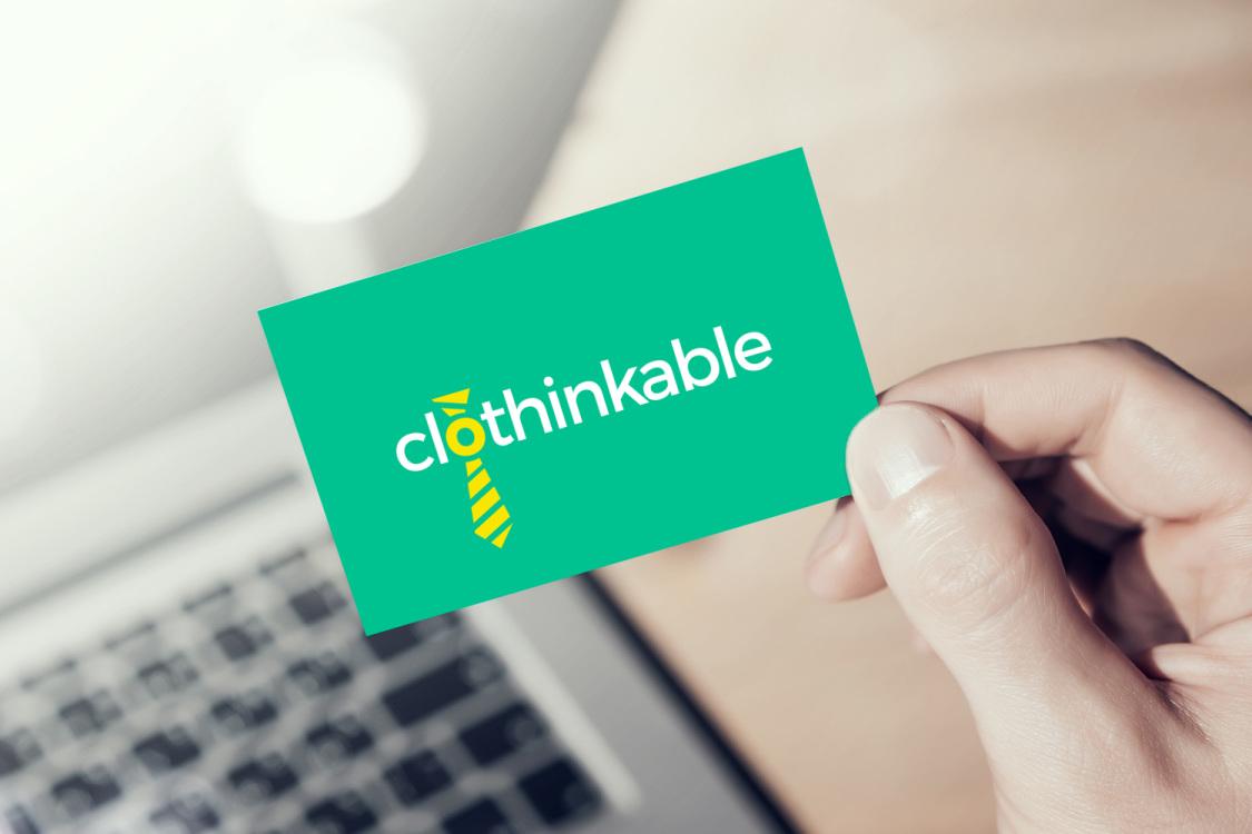 Sample branding #1 for Clothinkable