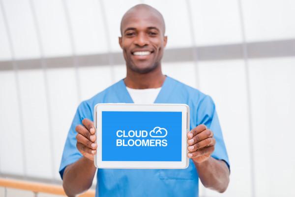 Sample branding #1 for Cloudbloomers