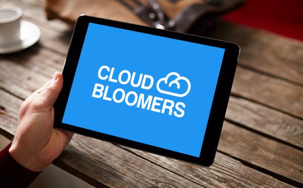 Sample branding #2 for Cloudbloomers