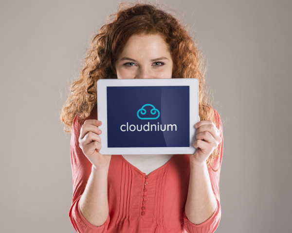 Sample branding #1 for Cloudnium