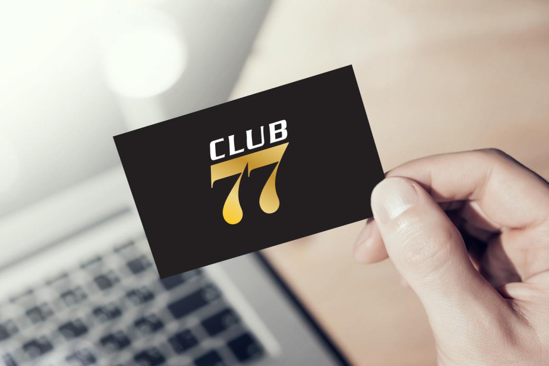 Sample branding #2 for Club77