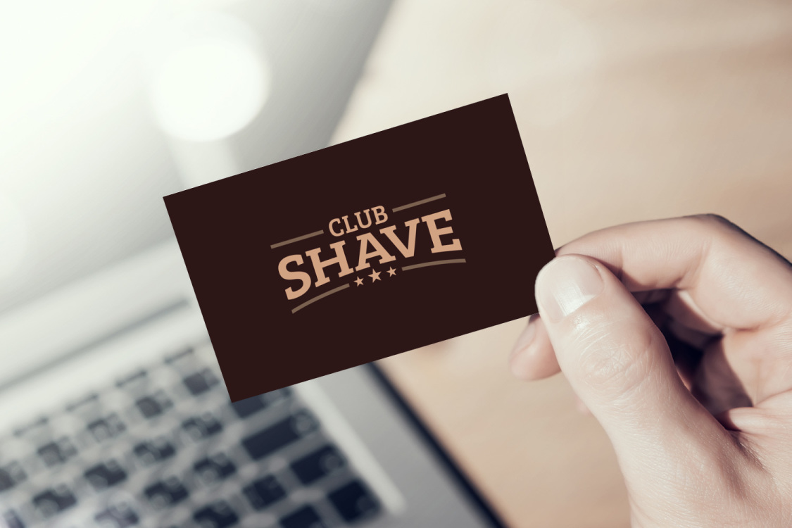 Sample branding #3 for Clubshave