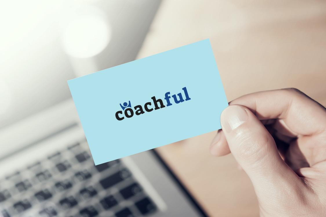 Sample branding #2 for Coachful