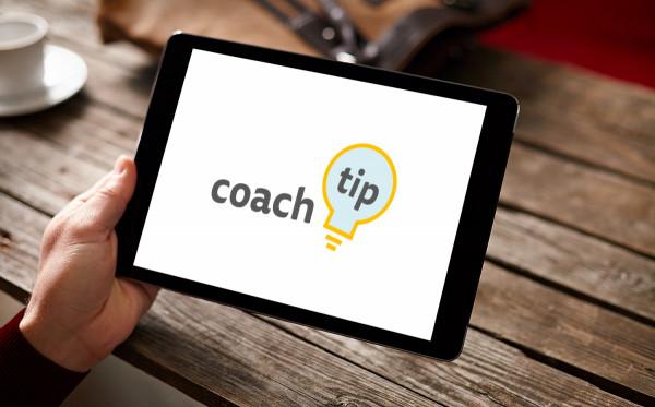 Sample branding #1 for Coachtip