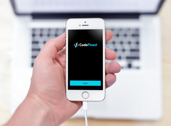 Sample branding #2 for Codefinest