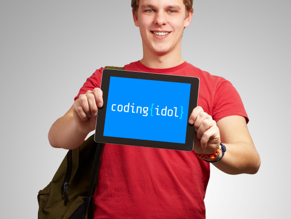 Sample branding #2 for Codingidol