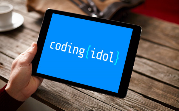 Sample branding #1 for Codingidol