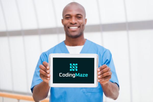 Sample branding #3 for Codingmaze