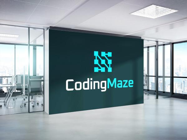 Sample branding #1 for Codingmaze