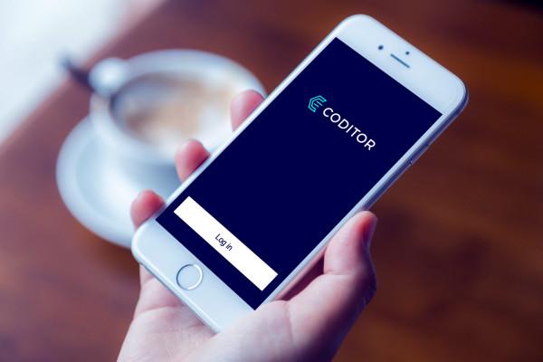 Sample branding #2 for Coditor
