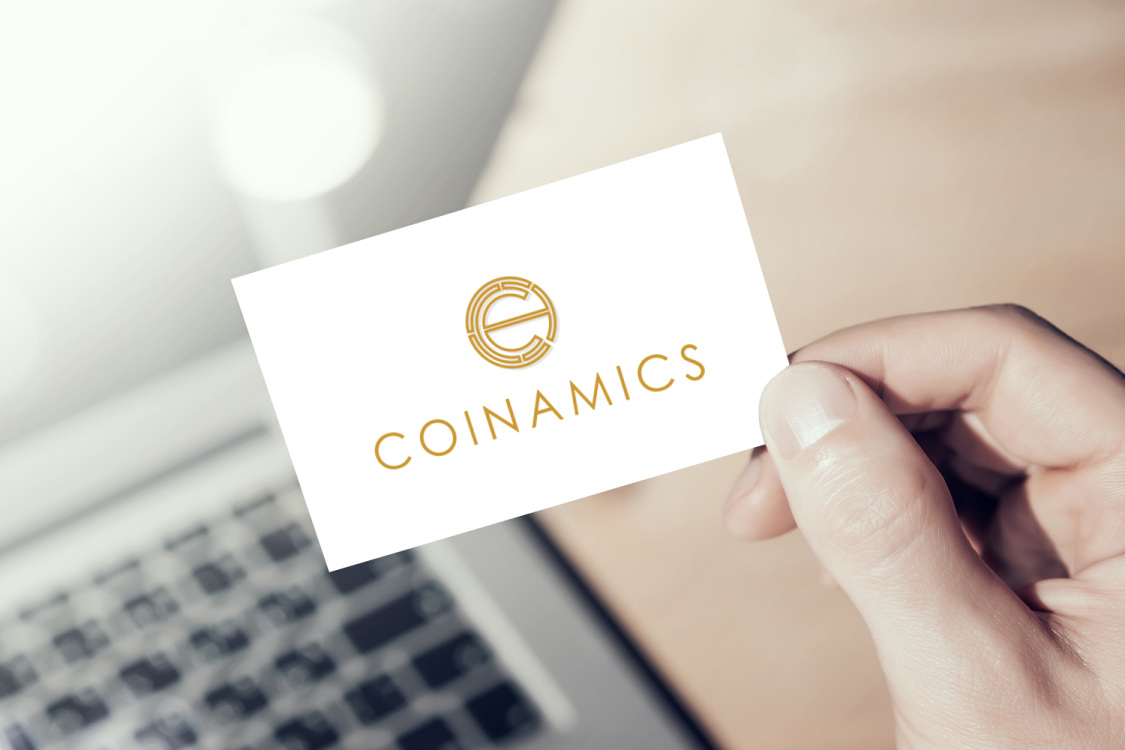 Sample branding #2 for Coinamics