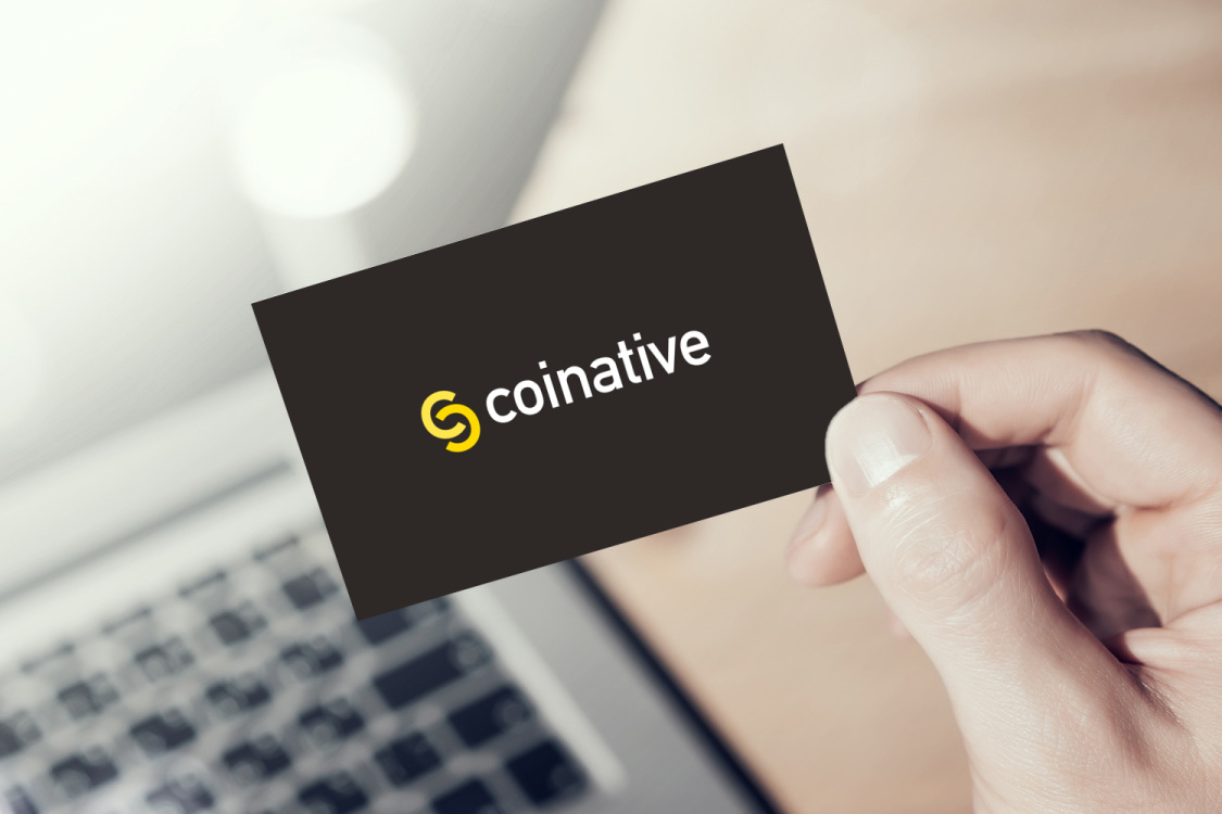 Sample branding #2 for Coinative