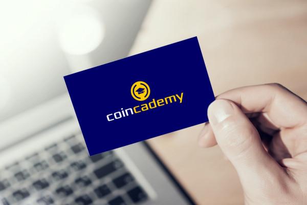 Sample branding #1 for Coincademy