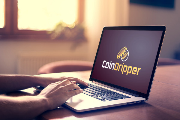 Sample branding #3 for Coindripper