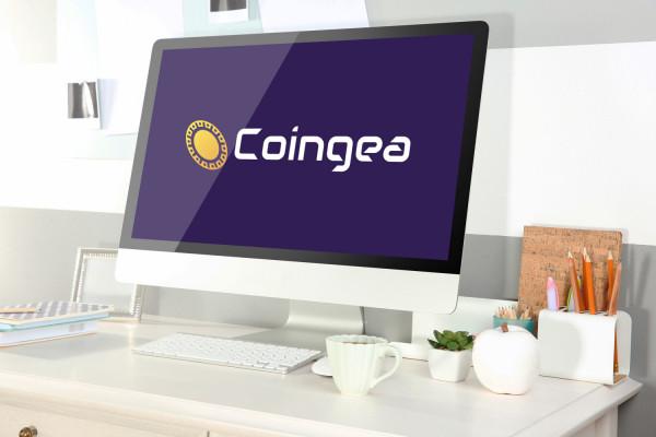Sample branding #3 for Coingea