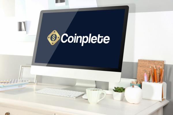 Sample branding #2 for Coinplete