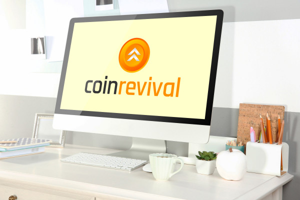 Sample branding #3 for Coinrevival