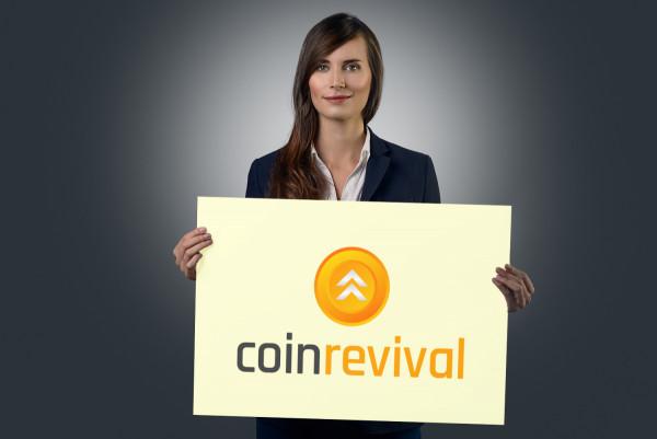 Sample branding #2 for Coinrevival