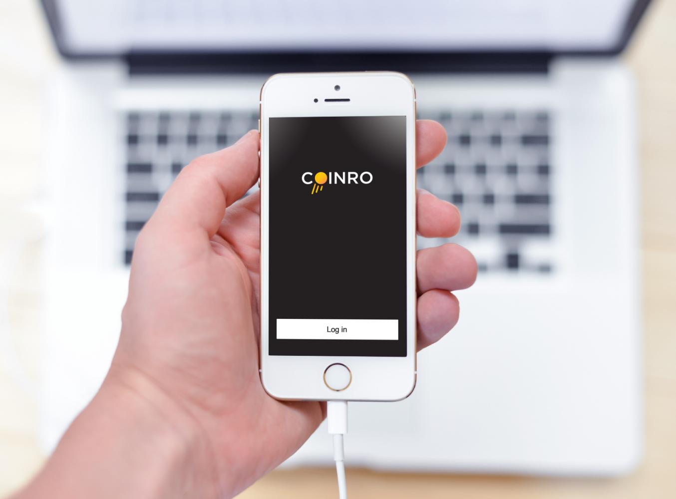 Sample branding #1 for Coinro