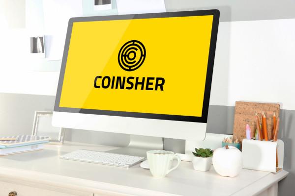 Sample branding #2 for Coinsher