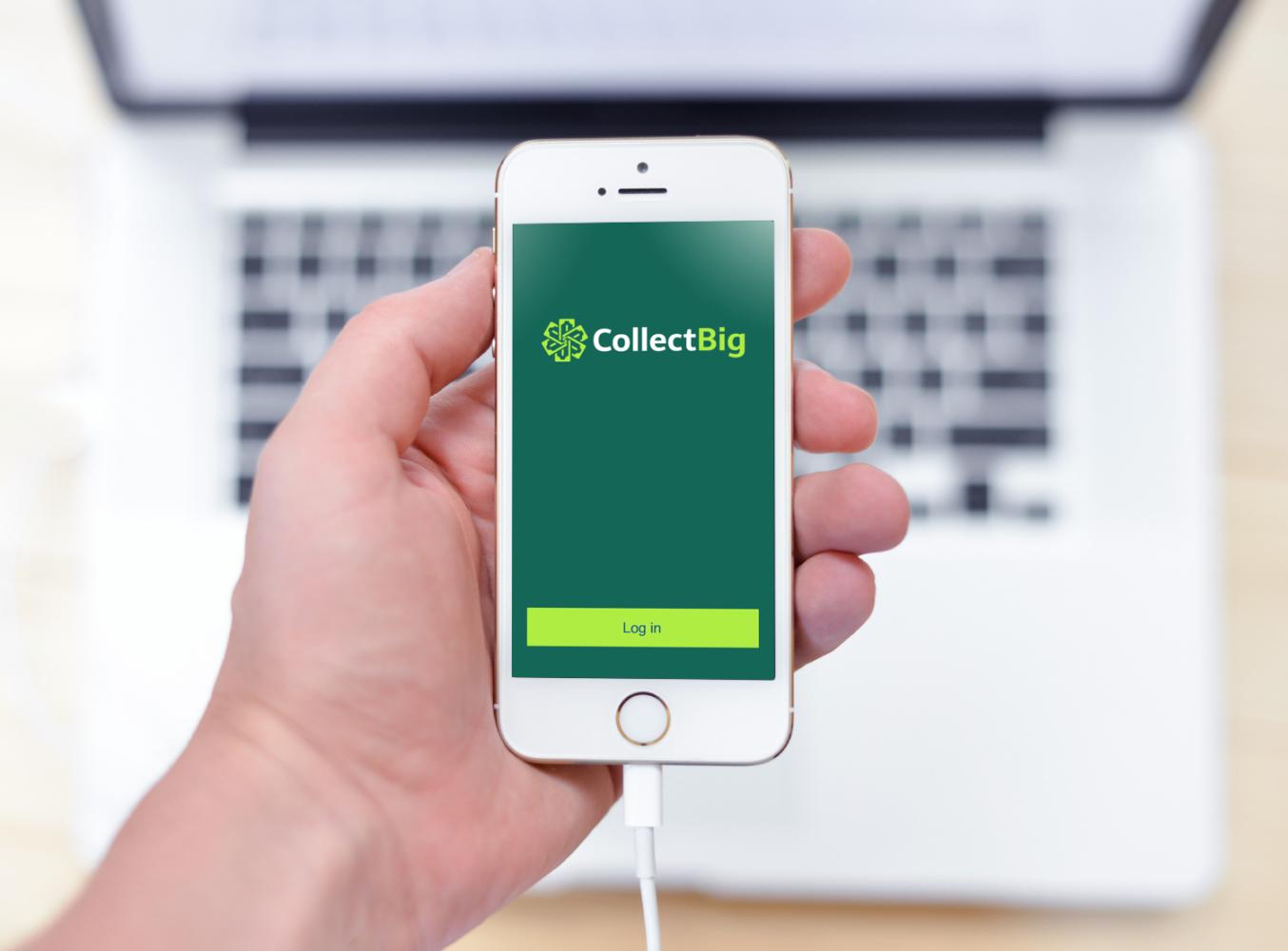 Sample branding #1 for Collectbig