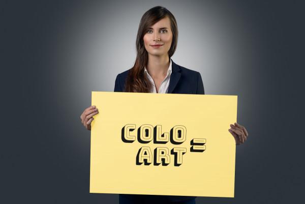 Sample branding #2 for Coloart