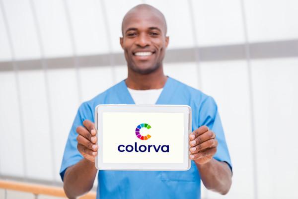 Sample branding #2 for Colorva