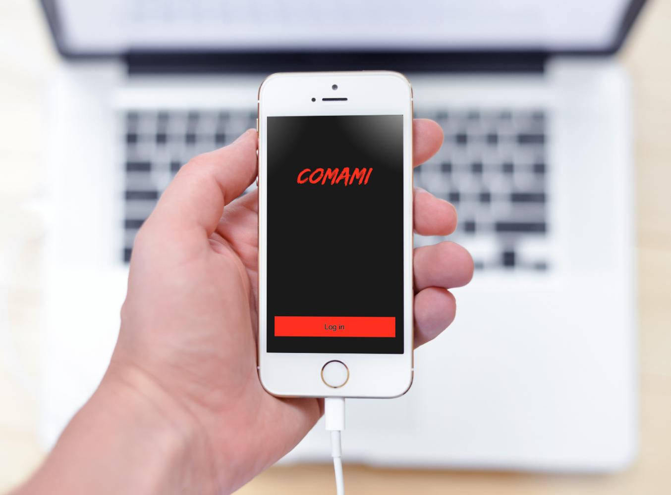 Sample branding #2 for Comami