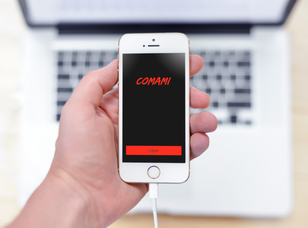 Sample branding #1 for Comami