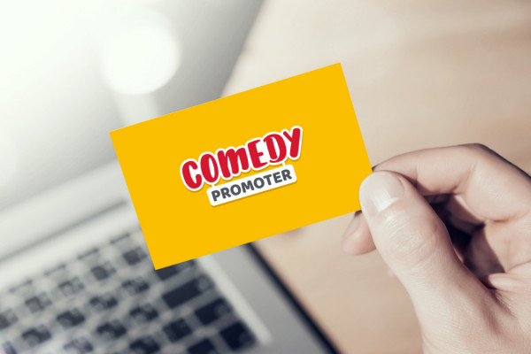 Sample branding #2 for Comedypromoter