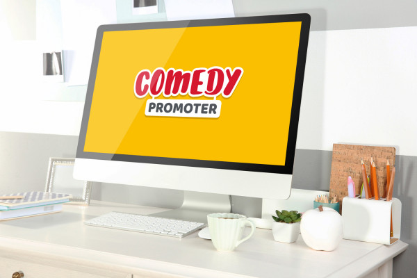 Sample branding #3 for Comedypromoter