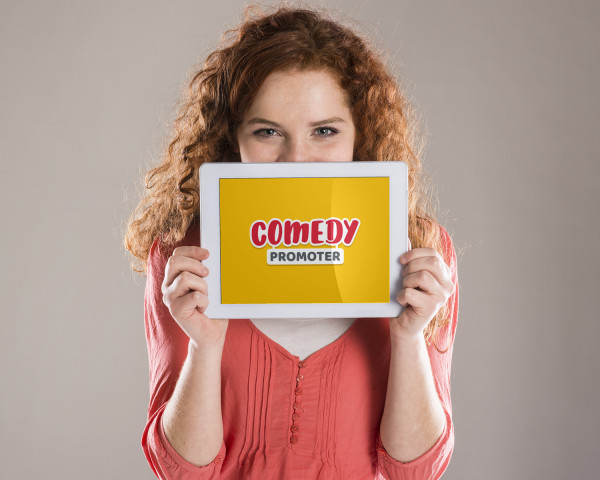 Sample branding #1 for Comedypromoter