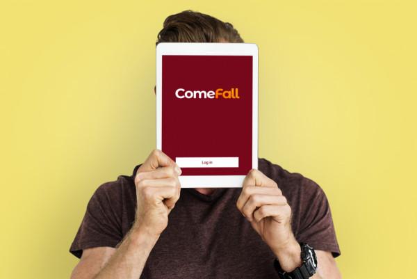 Sample branding #2 for Comefall