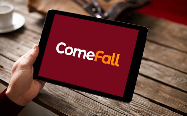 Sample branding #3 for Comefall