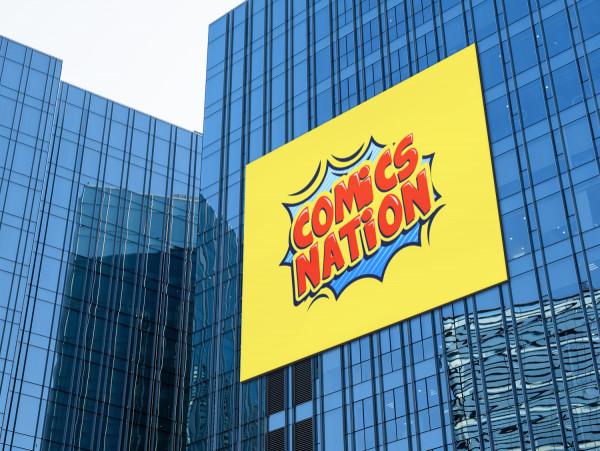 Sample branding #2 for Comicsnation