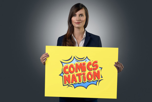 Sample branding #3 for Comicsnation