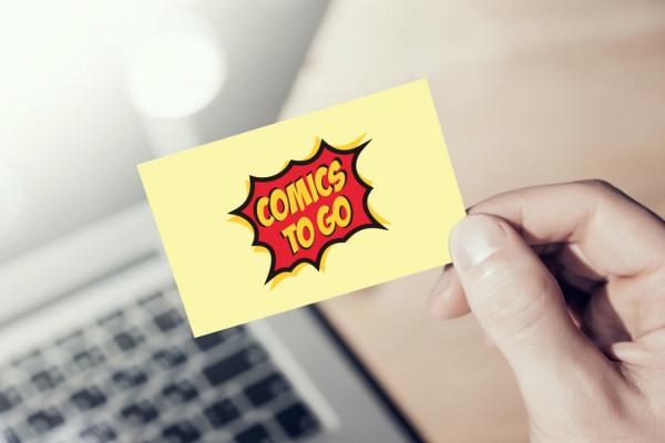 Sample branding #2 for Comicstogo