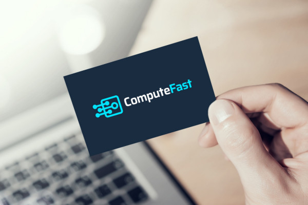 Sample branding #2 for Computefast