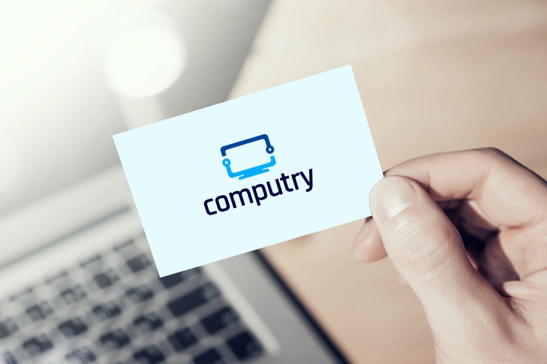 Sample branding #2 for Computry