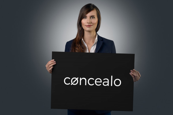 Sample branding #2 for Concealo